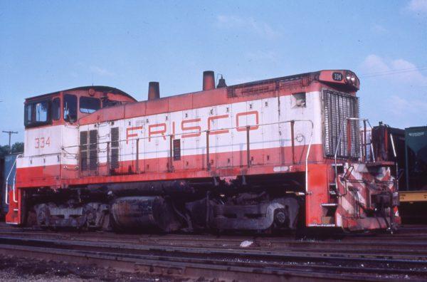 SW1500 334 at Kansas City, Kansas on May 13, 1980