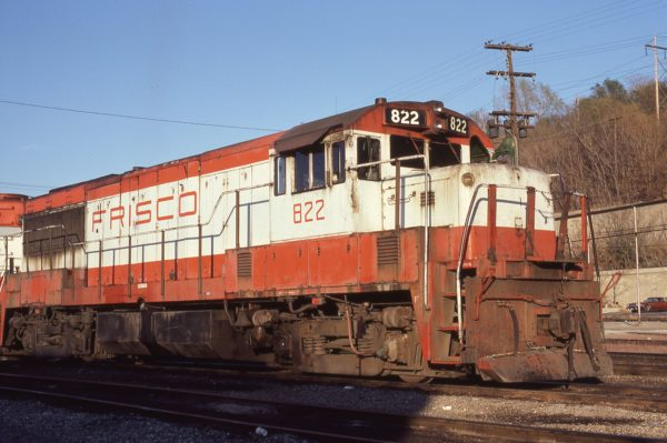 U25B 822 at Kansas City, Missouri on October 22, 1979 (Jim Wilson)