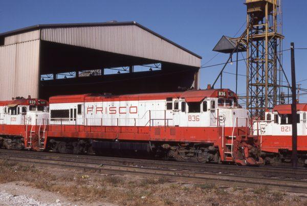 U30B 836 at Springfield, Missouri on October 20, 1980