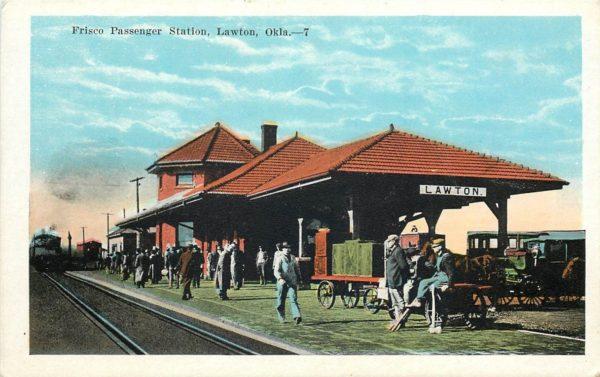 Lawton, Oklahoma Depot