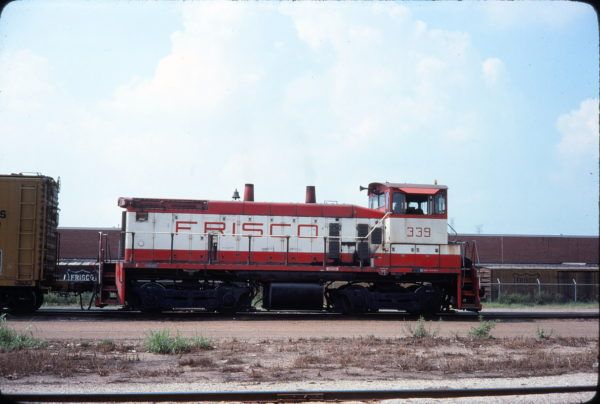 SW1500 339 (location unknown) in September 1977