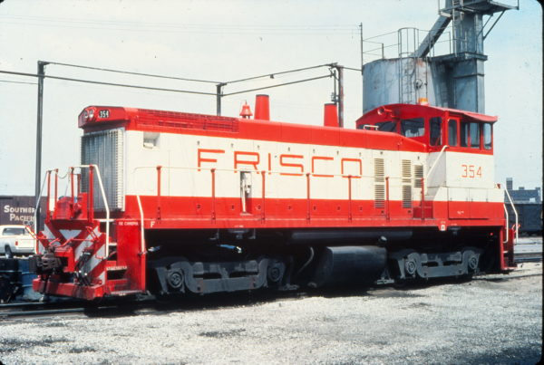 SW1500 354 at Kansas City, Missouri in May 1980 (Vernon Ryder)