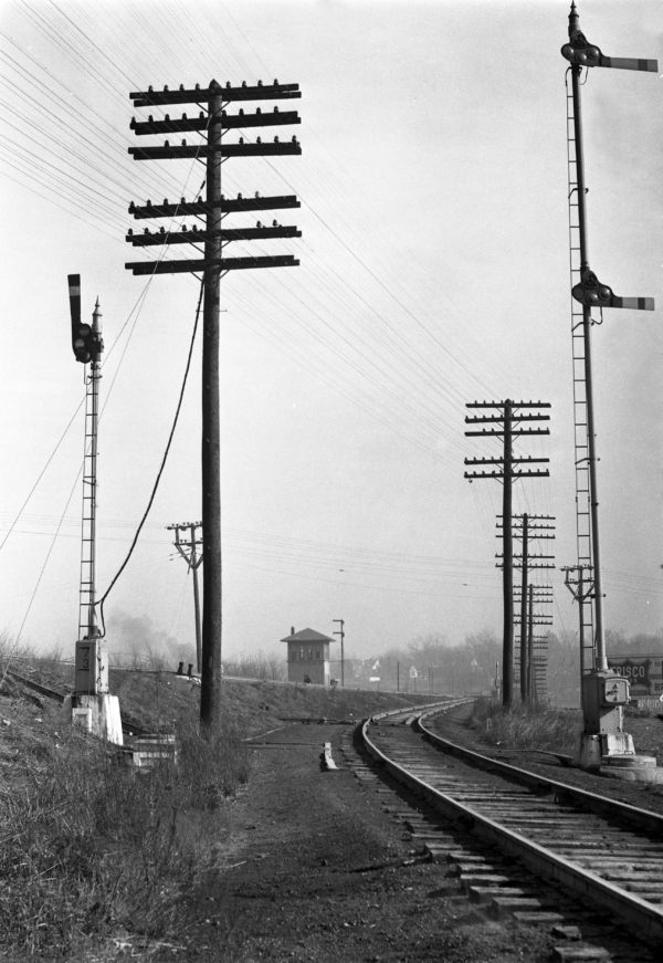 Southeastern Junction, St. Louis, Missouri in 1940 (William K. Barham)