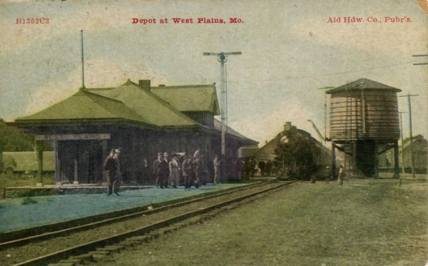 West Plains, Missouri Depot
