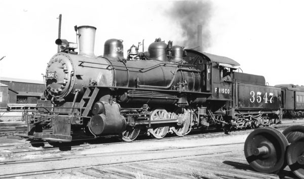 0-6-0 3547 at Oklahoma City, Oklahoma on October 19, 1946 (Richard Kindig-Charles Felstead)
