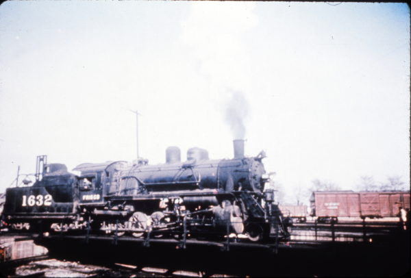 2-10-0 1632 at Clinton, Missouri (date unknown) (Richard Wallin Collection)