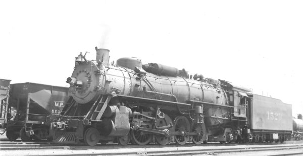 4-8-2 1520 at Tulsa, Oklahoma on July 14, 1947 (Arthur B. Johnson)