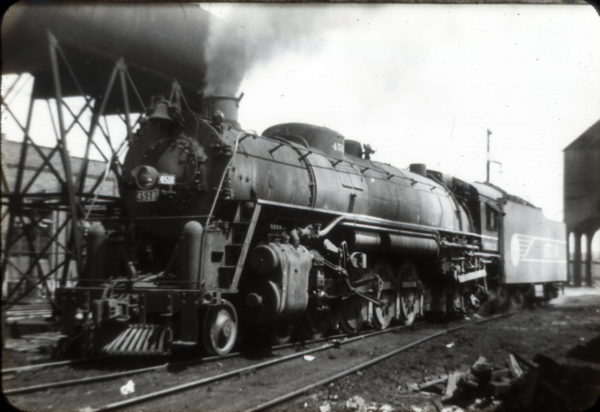 4-8-4 4518 (date and location unknown)