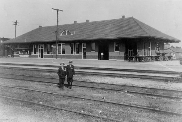 Afton, Oklahoma Depot (date unknown)