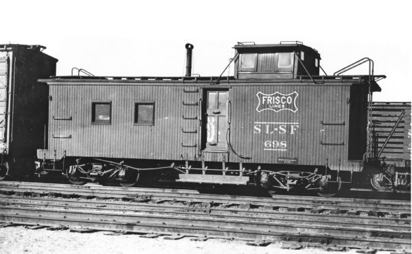 Caboose 698 (date and location unknown) (Joe Collias)