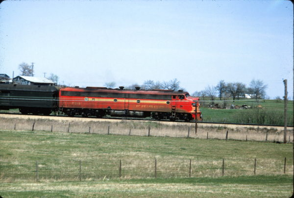E8A 2019 (Cavalcade) (location unknown) in April 1965