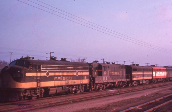 F7A 19 and GP7 541 (date and location unknown)