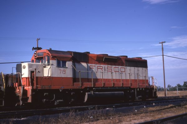 GP35 719 at Hamlet, North Carolina on November 26, 1971