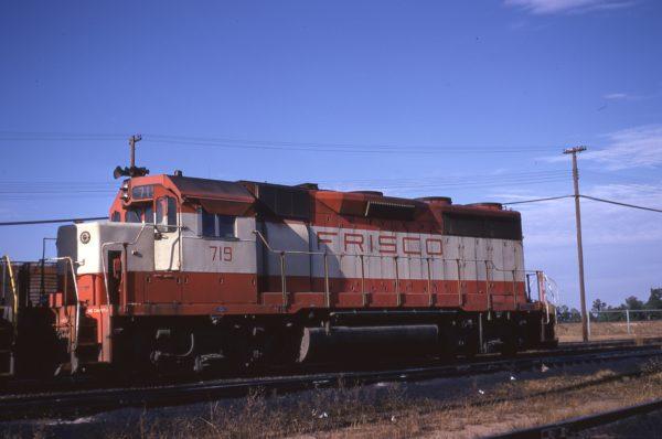 GP35 719 at Hamlet, North Carolina on November 26, 1971