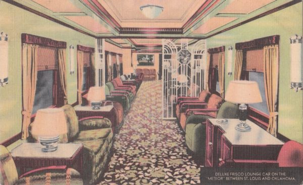 Deluxe Frisco Lounge Car