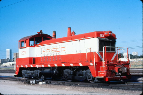 NW2 263 at Tulsa, Oklahoma on August 23, 1980