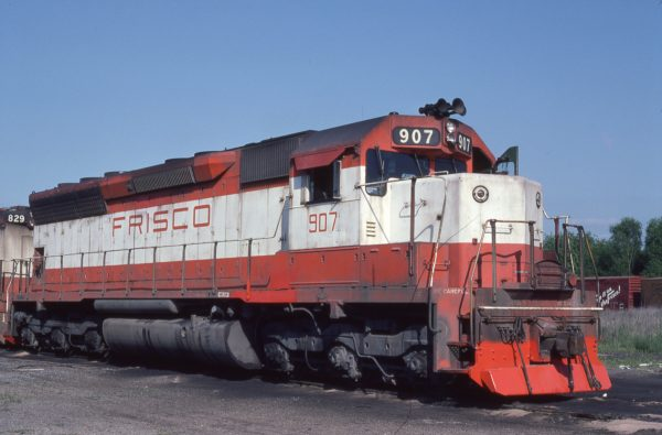 SD45 907 at Guin, Alabama on May 8, 1976 (Ray Sturges)