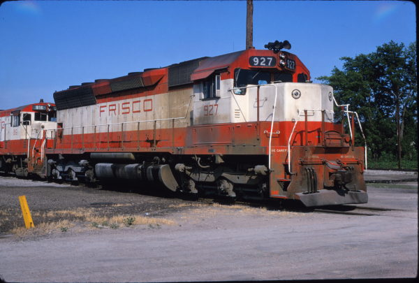 SD45 927 at Birmingham, Alabama on May 28, 1972 (James Herold)