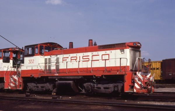 SW1500 322 at St. Louis, Missouri on August 30, 1980 (Steve Gartner)
