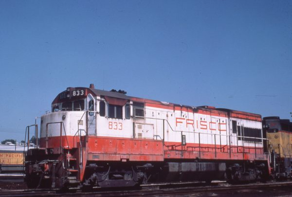 U30B 833 at Kansas City, Kansas on September 3, 1978