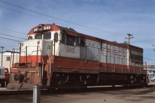 U30B 840 at North Platte, Nebraska on July 29, 1976