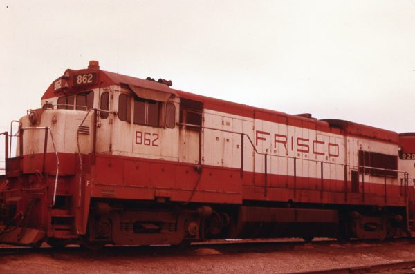 U30B 862 at Springfield, Missouri on April 15, 1979