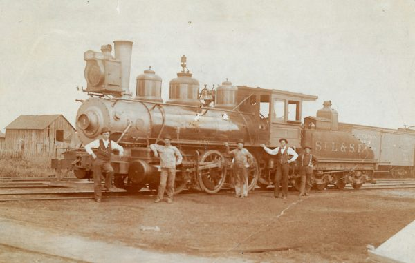 0-6-0 1 at Pittsburg, Kansas (Circa 1893)