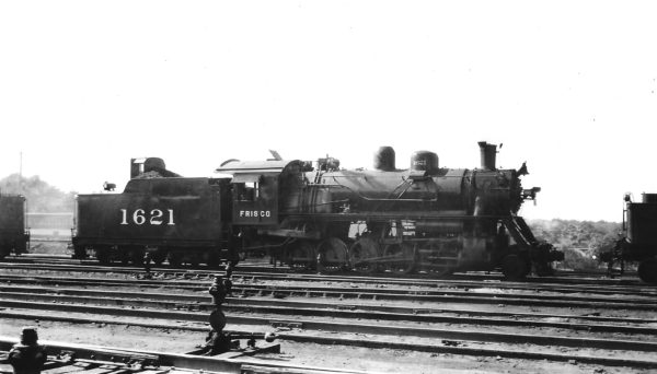 2-10-0 1621 at Springfield, Missouri on June 16, 1947 (Arthur B. Johnson)