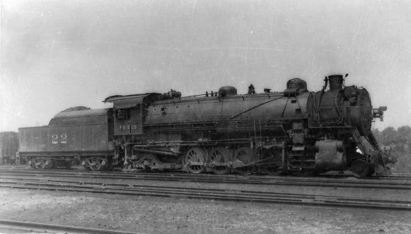 2-10-2 22 at St. Louis, Missouri on June 21, 1936 (Arthur B. Johnson)