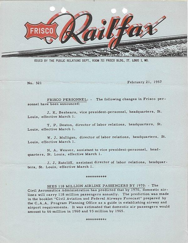 Railfax 321