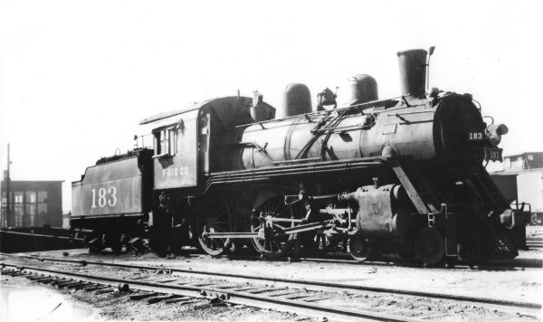 4-4-0 183 (date and location unknown)
