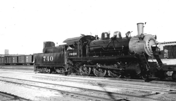 4-6-0 740 backing at Tulsa, Oklahoma on May 20, 1946 (Arthur B. Johnson)