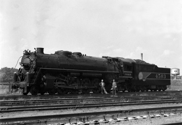 4-8-4 4503 in June 1942 (William K. Barham)