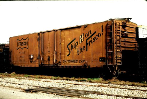 Boxcar 8433 (date and location unknown)