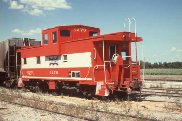 Caboose 1276 at Wichita, Kansas on August 20, 1978 (Tim Souders)