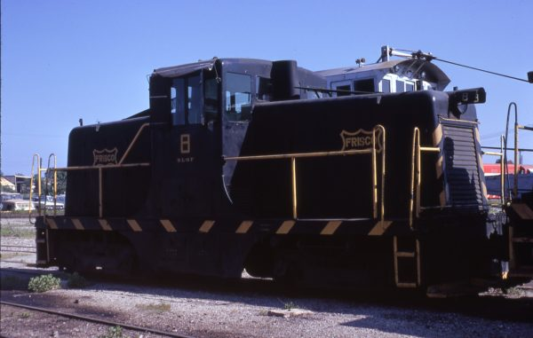 GE 44-Ton 8 at Tulsa, Oklahoma in June 1970 (Jim Wilson)
