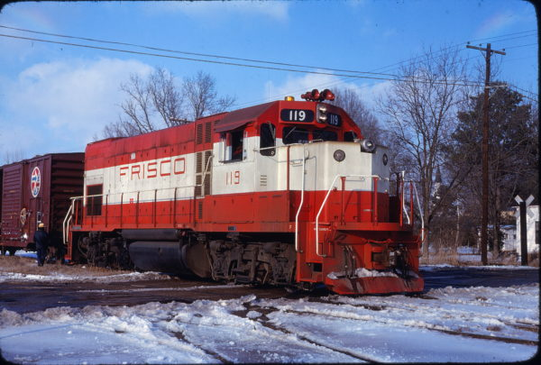GP15-1 119 at Hope, Arkansas in July 1, 1978 (J. Harlan Wilson)