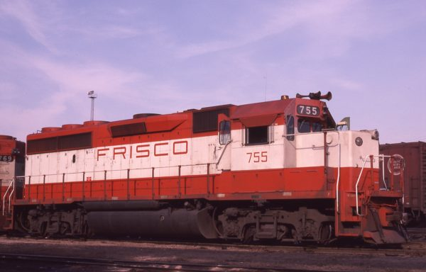 GP40-2 755 at St. Louis, Missouri on April 23, 1980 (M.A. Wise)