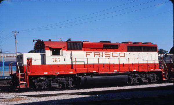 GP40-2 767 in the St. Louis, Missouri-area on July 18, 1980 (Harlan Wilson)