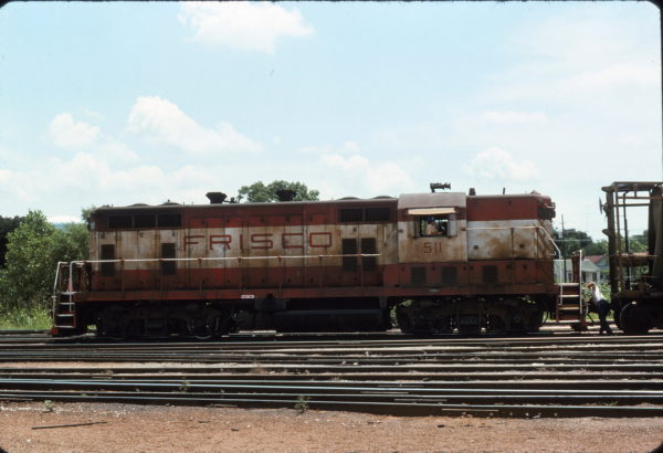 GP7 511 (location unknown) in September 1975