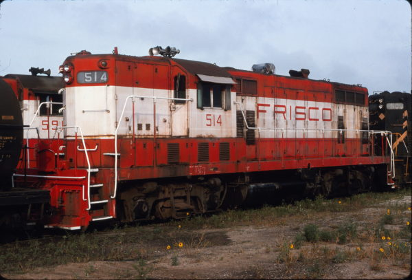 GP7 514 (location unknown) in August 1976