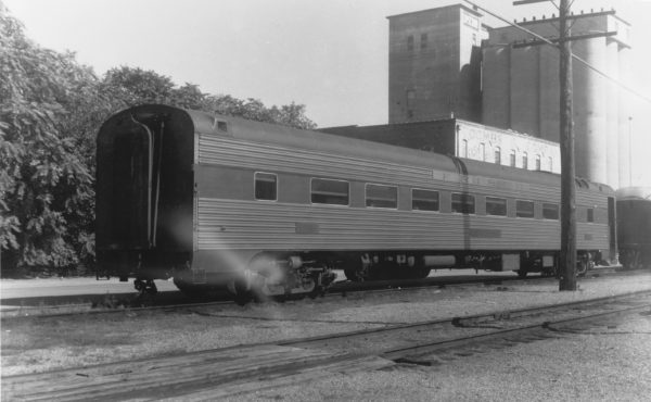 Lightweight Chair Car in the South Yard, Springfield, Missouri (date and location unknown)