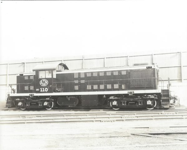 RS-1 110 - ALCO Builder's Photo - August 1946