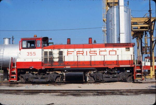 SW1500 355 at Tulsa, Oklahoma on July 19, 1980 (James Holder)