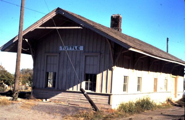 Tuttle, Oklahoma Depot