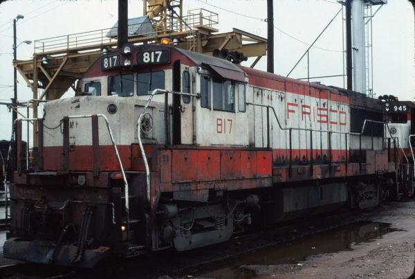 U25B 817 Tulsa, OK in April 1976