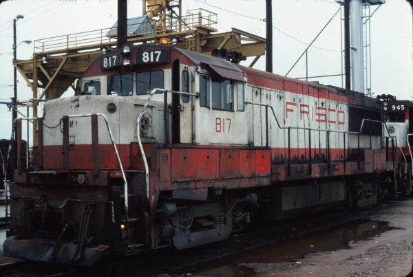 U25B 817 Tulsa, OK in April 1976