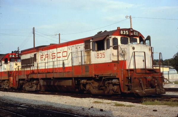 U30B 835 at Birmingham, Alabama on August 3, 1978 (Arthur Deeks)