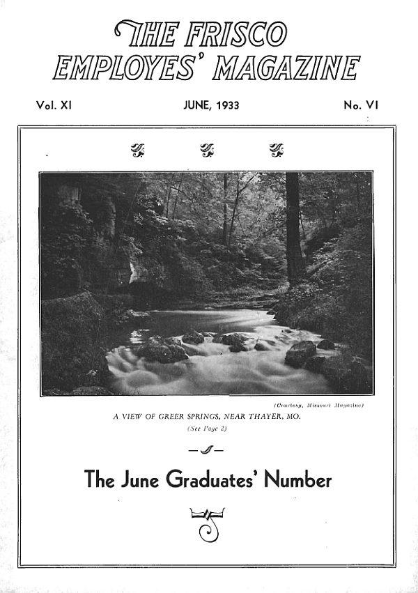 Employes' Magazine - June 1933