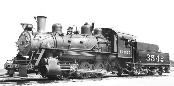 0-6-0 3542 at Oklahoma City, Oklahoma on March 31, 1940 (Charles Felstead)